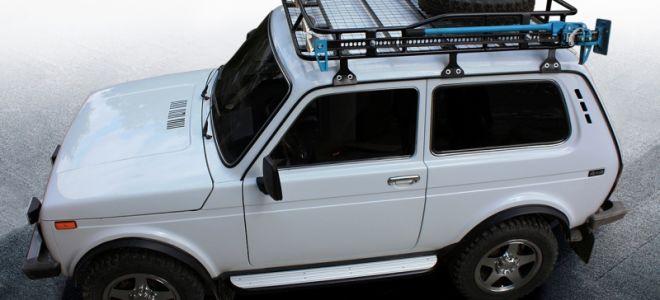 Багажник для Нивы