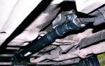Как смазать крестовину карданного вала