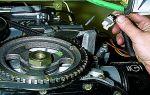Как снять и заменить  датчик положения коленчатого вала на Chevrolet Niva