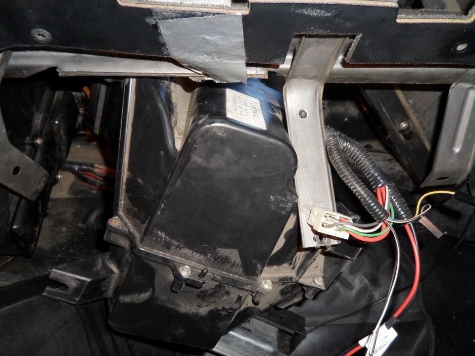 замена радиатора шевроле нива шевроле