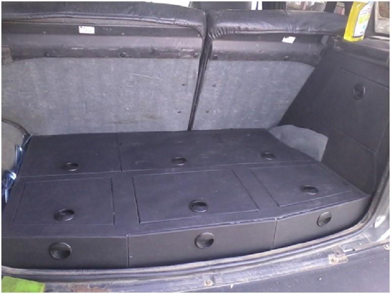 Органайзер в багажник этап 5