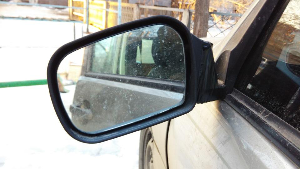 ремонт зеркала бокового вида